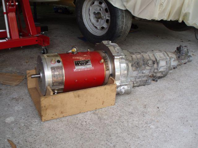 Motor/adapter/gearbox
