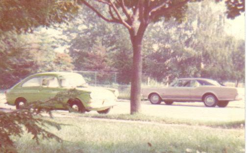 Sweet Pea and my 1967 Olds