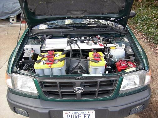 EV engine bay