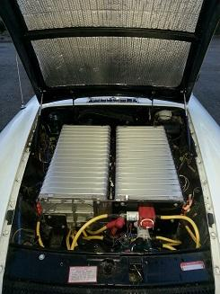 2/3rds Renault Battery Under Hood