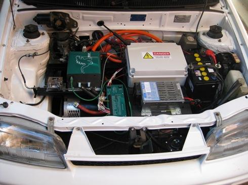 Engine bay EV