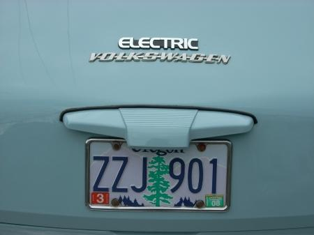 Yes, it's electric!