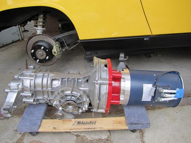 AC50 and 914 transaxle coupled
