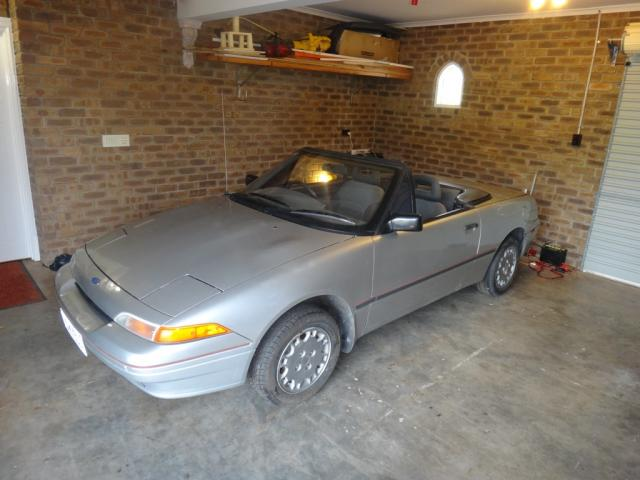 Original Ford Capri 1990 SA Convertible