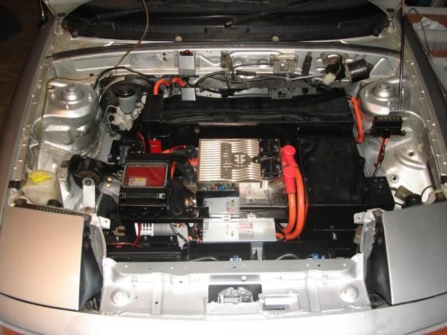 Engine Compartment Completed