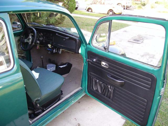 Passanger side interior