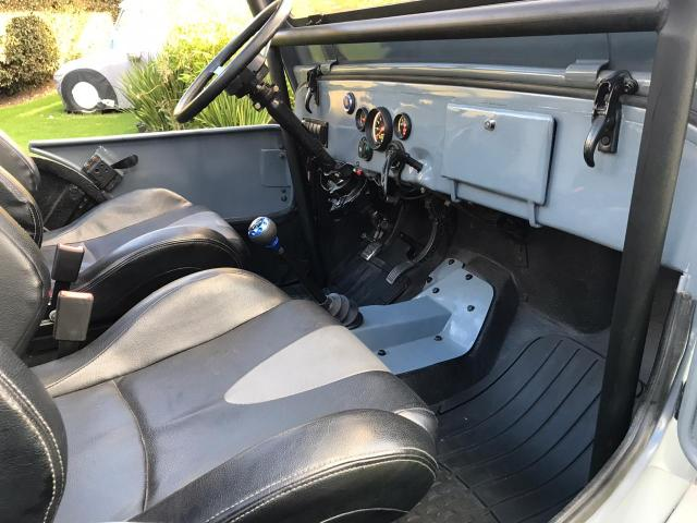 Willys 1954 72v EV interior