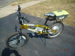 BMX E-Bike  48volt  A123 Lifepo4