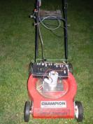 Frankenmower front view
